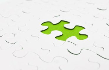 Missing green puzzle piece