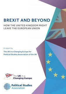 Cover of UK and EU and PSA report Brexit and Beyond
