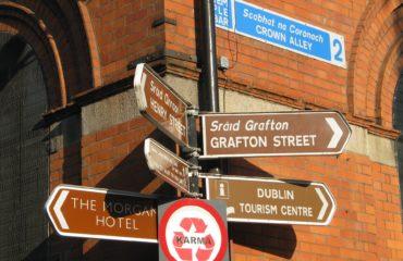 Dublin street signs