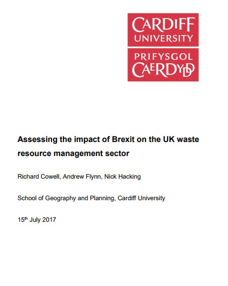 Cover Waste Policy Brief