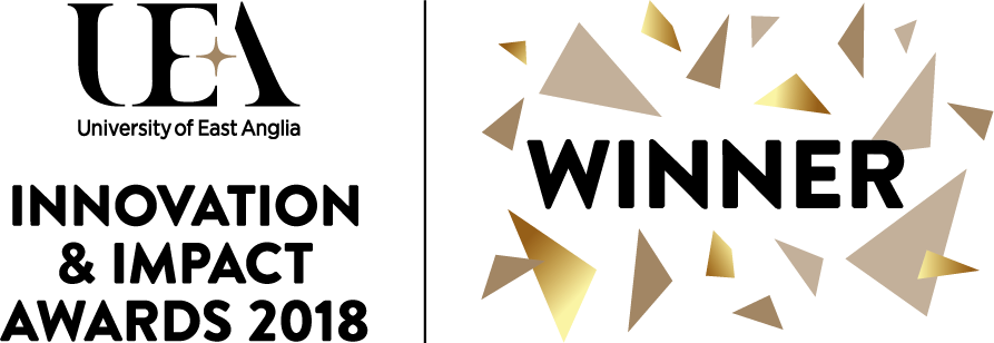 Winner UEA Impact and Innovation Award 2018