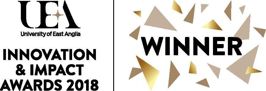 Winner UEA Impact and Innovation Award 2018