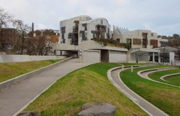 Scottish Parliament by Colin Reid