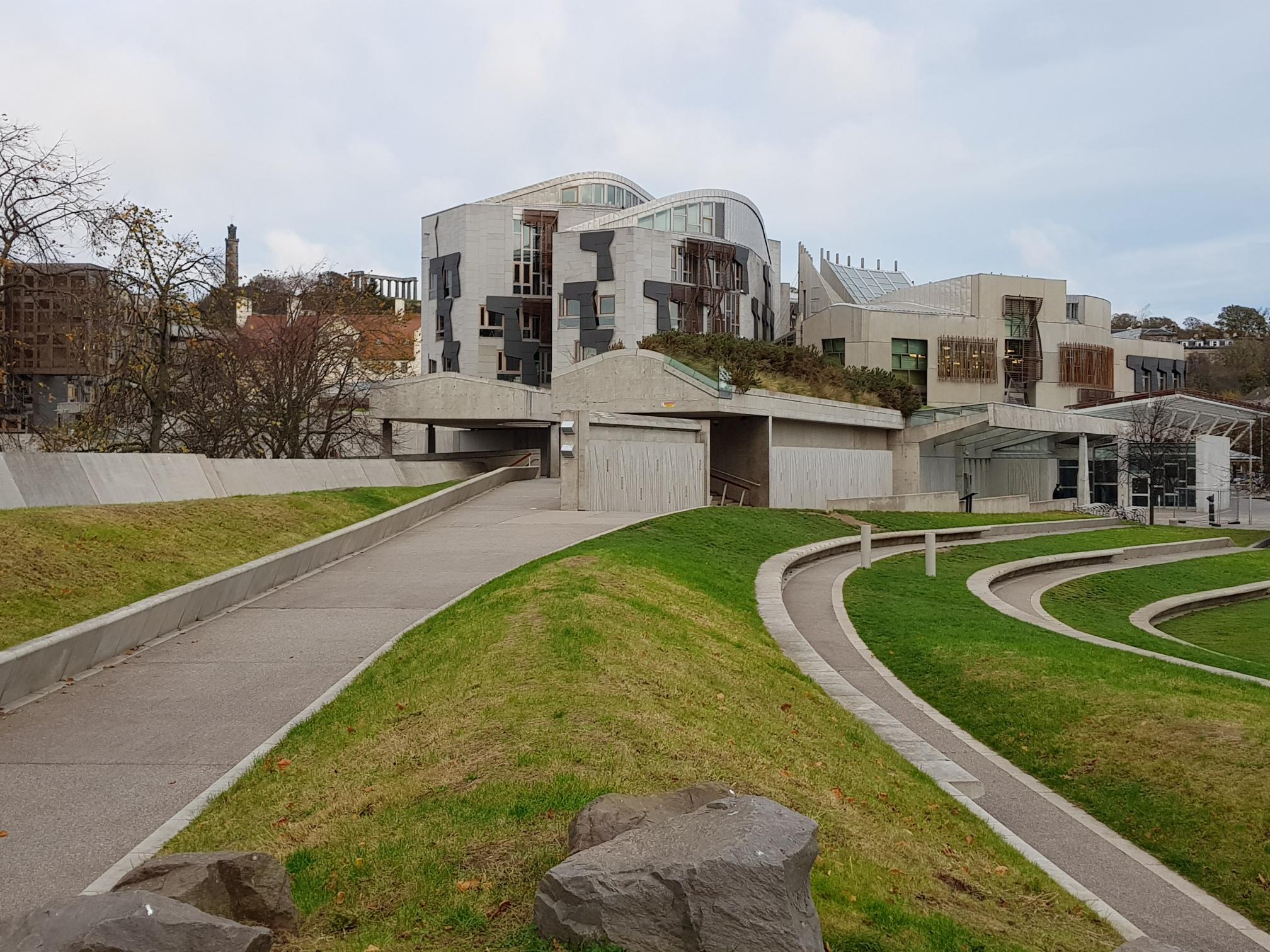 Scottish Parliament by Colin Reid